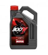 Мотоциклетное моторное масло Motul 300V 4T Factory Line Road Racing 10W-40