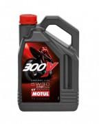 Motul Мотоциклетное моторное масло Motul 300V 4T Factory Line Road Racing 5W-30