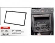 Carav Переходная рамка Carav 11-101 Volkswagen Bora (1998 - 2006), Passat B5 (1996 - 2005), Golf IV (1998 - 2003), 2 DIN