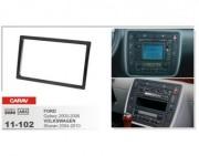 Carav Переходная рамка Carav 11-102 Volkswagen Sharan (2004 - 2010), Ford Galaxy (2000 - 2006), 2 DIN