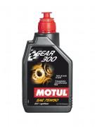 Синтетическое трансмиссионное масло Motul Gear 300 75W90 GL4/GL5