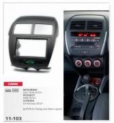 Carav Переходная рамка Carav 11-103 Peugeot 4008 2012+ / Citroen C4 Aircross 2012+ / Mitsubishi ASX, RVR 2010+, 2 Din