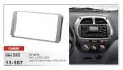 Carav Переходная рамка Carav 11-107 Toyota RAV4 (2000 - 2005), Land Cruiser Prado 150 (2010+), 2 DIN