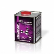 Минеральное трансмиссионное масло Nanoprotec GEAR Oil 80W-90 GL-4