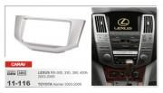 Carav Переходная рамка Carav 11-116 Lexus RX-300, RX-330, RX-350, RX-400h (2003 - 2009), Toyota Harrier (2003 - 2009), 2 DIN