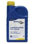 Синтетическое трансмиссионное масло North Sea Autogear Power SYN 75W-90 GL-4/GL-5/MT-1