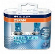 Комплект ламп Osram COOL BLUE HYPER OS 62193 CBH DUOBOX (H4)