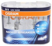 Комплект ламп Osram NIGHT BREAKER PLUS OS 64150 NBP DUOBOX (H1)