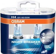 Комплект ламп Osram NIGHT BREAKER PLUS OS 64193 NBP DUOBOX (H4)