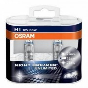Комплект ламп Osram Night Breaker Unlimited OS 64150 NBU HCB Duobox (H1)