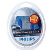 Комплект галогенных ламп Philips Diamond Vision PS 12972 DV S2 (H7)