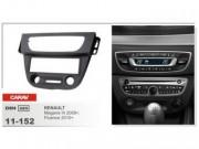 Переходная рамка Carav 11-152 Renault Fluence (2010+), Renault Megane III (2008+), 2 DIN