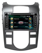 Штатная магнитола RoadRover для Kia Cerato 2009 - 2012 (климат - контроль)