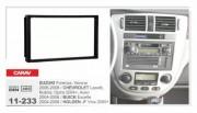 Переходная рамка Carav 11-233 Chevrolet Lacetti, Nubira, Optra 2004+, Aveo 2004-2006, Suzuki Forenza, Verona 2004-2008, 2 DIN