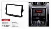 Переходная рамка Carav 11-297 Dacia / Renault Duster 2010+, Logan 2013+, Sandero 2012+, Dokker, Lodgy 2012+, Trafic 2014+, Captu