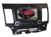 Штатная магнитола Synteco для Mitsubishi Lancer X (Rockford HD)