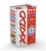 Моторное масло Xado (Хадо) Atomic Oil 15w-40 SL/CI-4