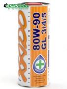 Минеральное трансмиссионное масло для МКПП Xado (Хадо) Atomic Oil 80w-90 GL 3/4/5