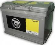 Аккумулятор Baren Аккумуляторная батарея Baren 574102068 Polar 74 А/Ч (Правый+)