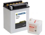 Аккумуляторная батарея Varta 514014014 (YB14-B2) 14 А/Ч (Левый +)