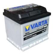 Аккумулятор Varta Аккумуляторная батарея VARTA B20 BLACK dynamic 545413040 45 А/Ч (Левый+)
