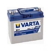 Аккумуляторная батарея VARTA B31 BLUE dynamic 545155033 45 А/Ч (Правый+)