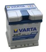 Аккумуляторная батарея VARTA B35 BLUE dynamic 542400039 42 А/Ч (Правый+)