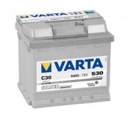 Аккумуляторная батарея VARTA C30 SILVER dynamic 554400053 54 А/Ч (Правый+)