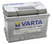 Аккумуляторная батарея VARTA D21 SILVER dynamic 561400060 61 А/Ч (Правый+)
