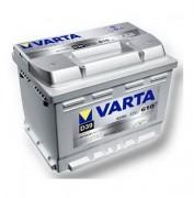 Аккумуляторная батарея VARTA D39 SILVER dynamic 563401061 63 А/Ч (Левый+)