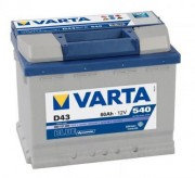 Аккумуляторная батарея VARTA D43 BLUE dynamic 560127054 60 А/Ч (Левый+)