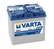 Аккумуляторная батарея VARTA D47 BLUE dynamic 560410054 60 А/Ч (Правый+)