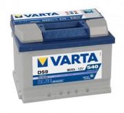 Аккумулятор Varta Аккумуляторная батарея VARTA D59 BLUE dynamic 560409054 60 А/Ч (Правый+)