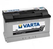 Аккумуляторная батарея VARTA F6 BLACK dynamic 590122072 90 А/Ч (Правый+)