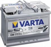 Аккумуляторная батарея VARTA ULTRA dynamic 12V 570901076 70А/Ч (Правый+)