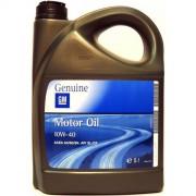Полусинтетическое оригинальное моторное масло GM 10w-40 1942046 (1942043)