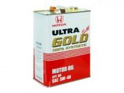 Оригинальное моторное масло Honda Ultra Gold SM 5w40 (Japan)