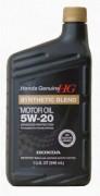 Синтетическое оригинальное моторное масло  Honda Genuie 5w-20 08798-9032