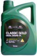 Оригинальное моторное масло Hyundai / KIA Classic Gold Diesel 10w30 CF-4 05200-00410 (05200-00110) (Korea)