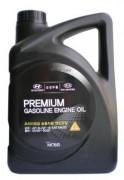 Оригинальное моторное масло Hyundai / KIA Premium Gasoline 5w20 SL/GF-3 05100-00421 (05100-00321, 05100-00121)