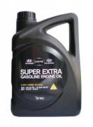 Оригинальное моторное масло Hyundai / KIA Super Extra Gasoline 5w30 SL/GF-3 05100-00410 (05100-00110)