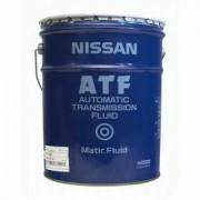 Оригинальная жидкость Nissan ATF Matic Fluid J (20л) (Japan)