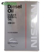 Оригинальное моторное масло Nissan Clean Diesel Oil 5w-30 DL-1 KLB30-05304 (Japan)