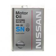 Оригинальное моторное масло Nissan Strong Save X SN 5w30 KLAN3-05304 ( KLAN3-05301)