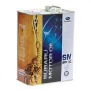 Оригинальное моторное масло Subaru Motor Oil SN 5w30 K0215-Y0273 (Japan)