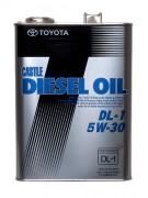 Оригинальное моторное масло Toyota Castle Diesel Oil DL-1 5w30 08883-02805