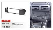 Carav Переходная рамка Carav 11-126 BMW X3 E83 (2001-2010), 1din