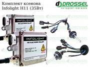 Ксенон Infolight H11 35W (3000K, 4300K, 5000K, 6000K, 8000K) Xenon