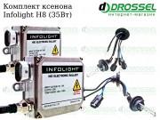 Ксенон Infolight H8 35W (3000K, 4300K, 5000K, 6000K, 8000K) Xenon