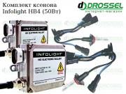 Ксенон Infolight HB4 (9006) 50Вт (4300K, 5000K, 6000K) Xenon